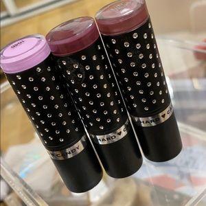 Hard candy lipsticks